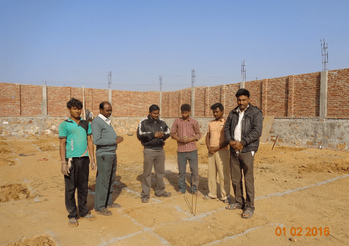 Alwar Children's Home Construction Update 3