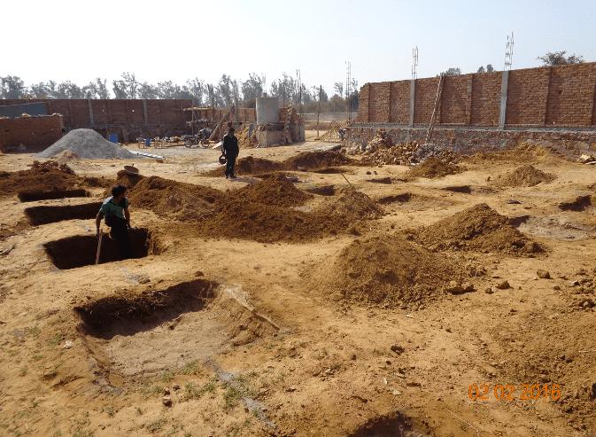 Alwar Children's Home Construction Update 3