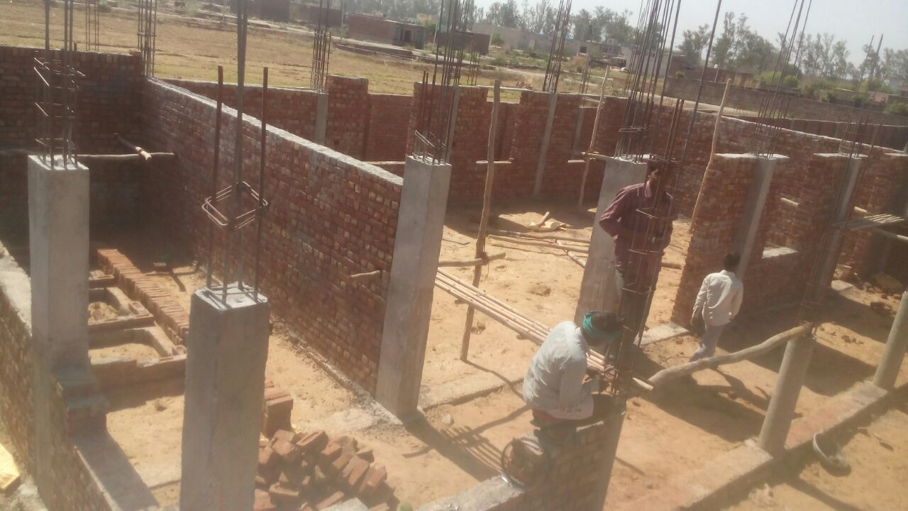 Alwar Children's Home Construction Update 4