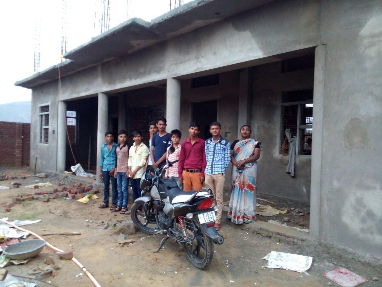 Alwar Children's Home Construction Update 5