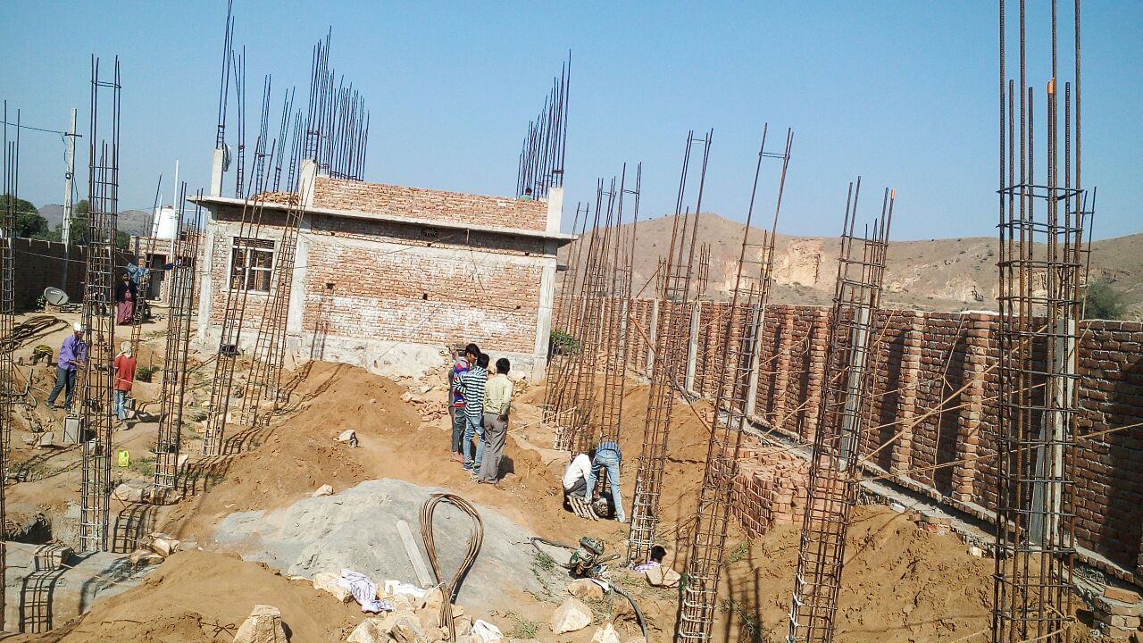 Alwar Children's Home Construction Update 6