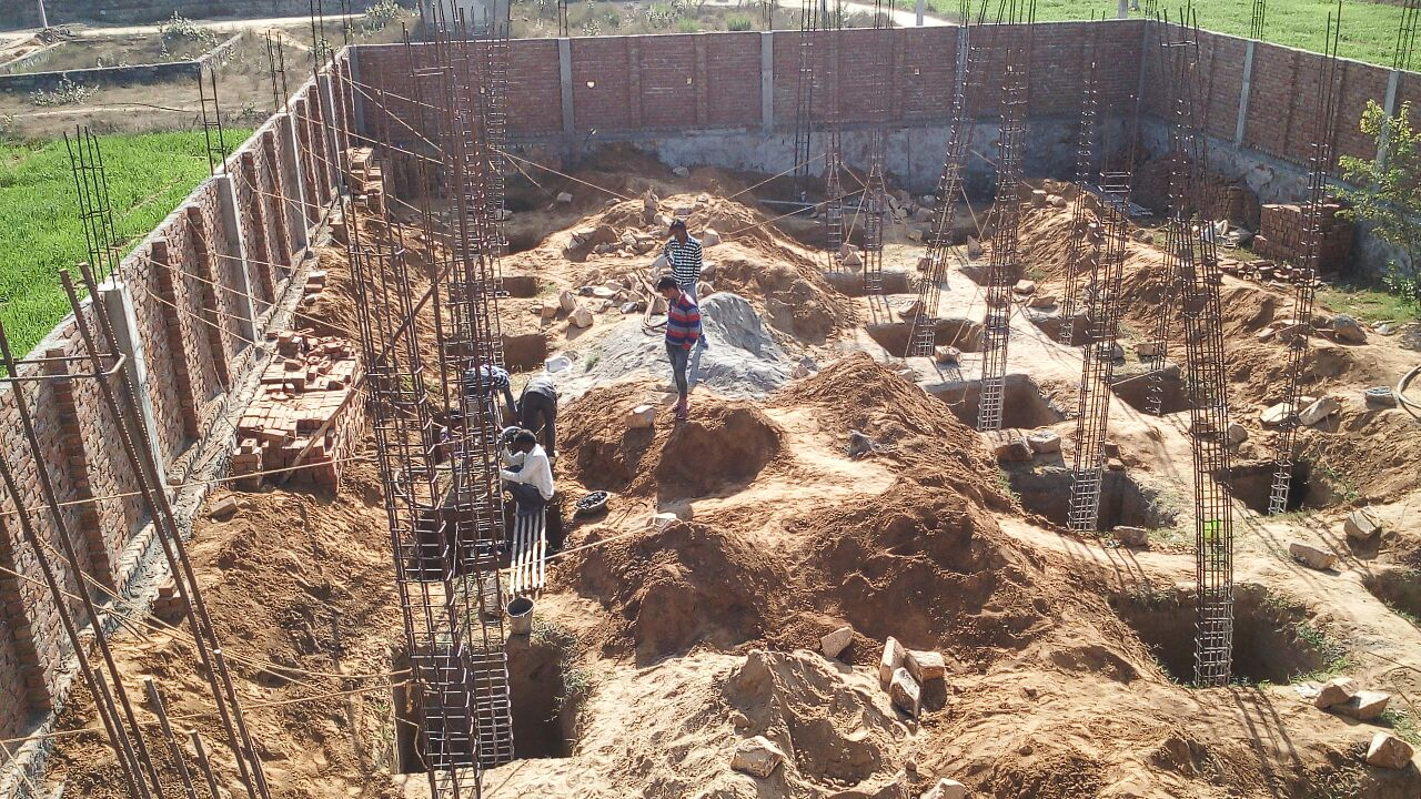 Alwar Children's Home Construction Update 6