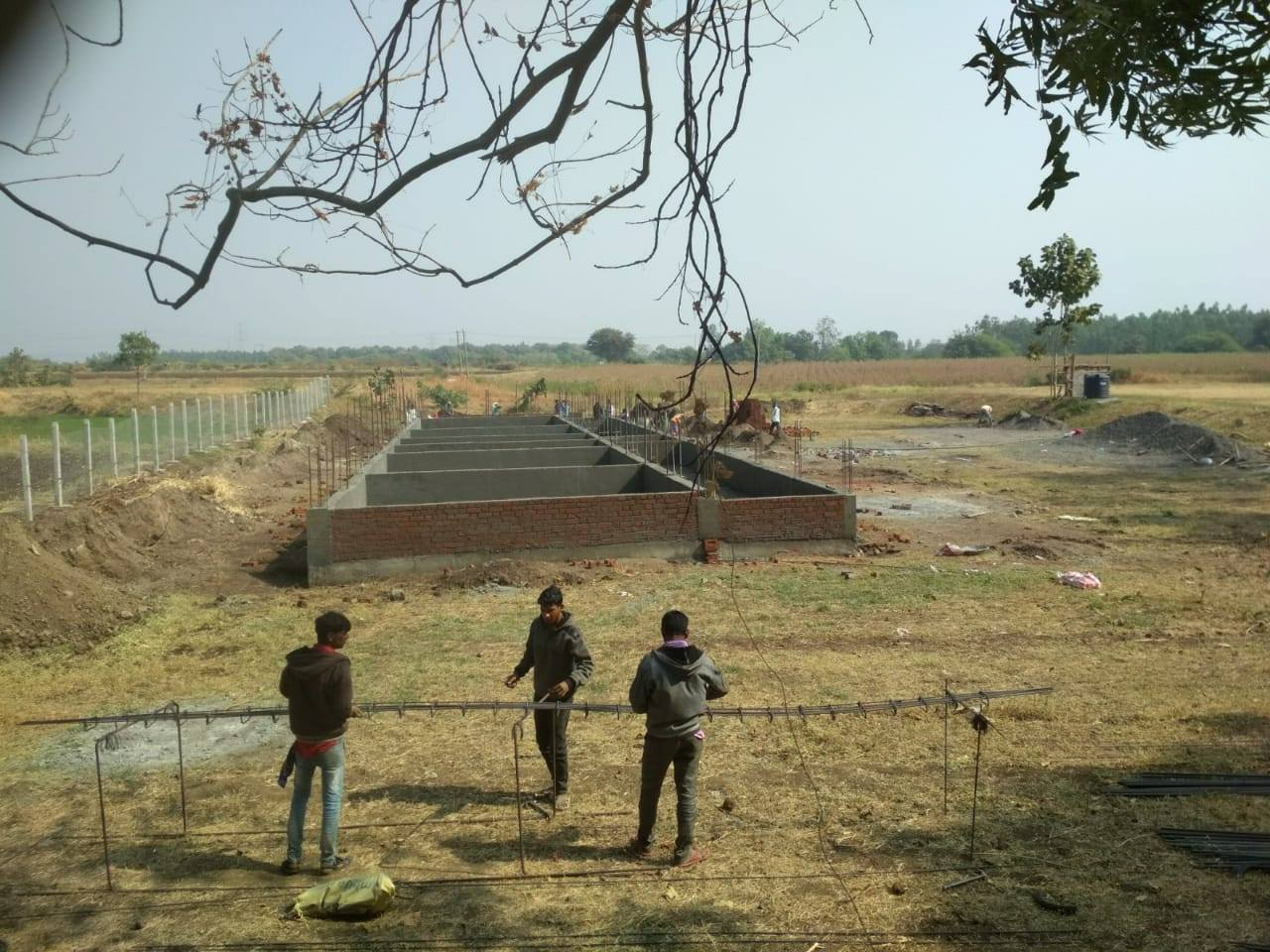 Selamba Children's Home Construction Update 1